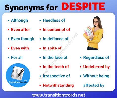 Although Synonym
