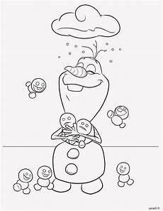 Malvorlagen Olaf Frozen Ausmalbilder Schneemann Olaf
