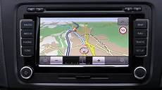 erstkontakt vw rns 510 navigation map nav traffic