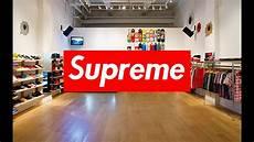 supreme shop inside the supreme nyc store