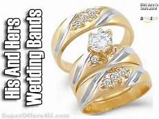 his and hers wedding bands white gold cheap white gold wedding bands youtube