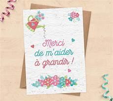 Carte 224 Planter Pour Cadeau Nounou Ma 238 Tresse Atsem
