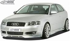 rdx frontspoiler audi a3 8p bis 2006 frontlippe front