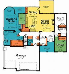 slater house plans slater owner s suite pocket office floor plans