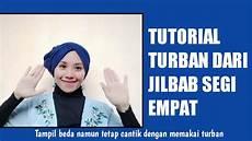 Tutorial Turban Dari Jilbab Segi Empat Farhana Fh