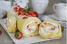 rotolo fragole e panna bimby rotolo con panna e fragole pronto in 20 minuti facile veloce e golosissimo