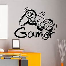 Controller Gamer Wall Decal Zone Wall Decals Vinyl
