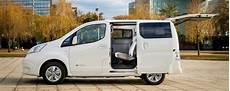 Technische Daten Dimensionen Der Nissan E Nv200 Evalia