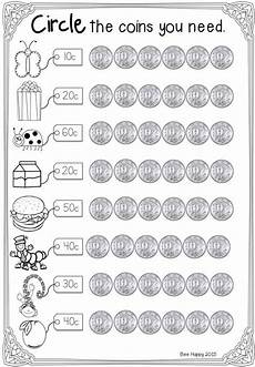 slide05 1st grade math money worksheets australian money teaching money