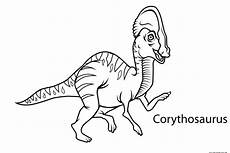 free printable dinosaur coloring pages with names 16807 preschool dinosaur coloring worksheets corythosaurusfree printable coloring pages for