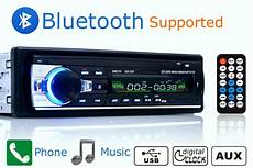 car radio stereo player bluetooth phone aux in mp3 fm usb