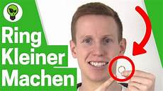Ring Verkleinern Top Anleitung Ringe Zu Gro 223 Selbst