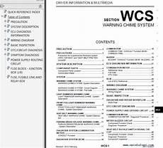 free online auto service manuals 2011 nissan quest security system nissan quest model e52 series 2011 service manual pdf