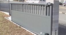 installation d un portail coulissant comment installer un portail coulissant electrique mon