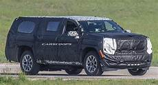 2020 cadillac escalade unveiling all new 2020 chevy suburban prototype tries to hide