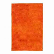 tapis orange ikea toftbo tapis de bain orange 60x90 cm ikea