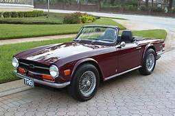 1969 Triumph TR6  First Year For The SOLD Vantage