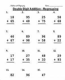 addition with regrouping worksheets with exles 9722 free 9 sle addition worksheet templates in ms word pdf