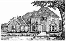 chateauesque house plans perfect balance hwbdo10036 chateauesque house plan