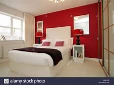 Modern Bedroom With Sliding Wardrobe Doors Feature