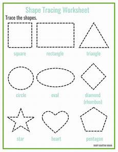 learning shapes worksheets free 1177 free printable shape tracing worksheets shape tracing worksheets shape worksheets for
