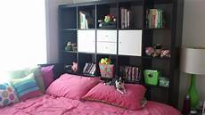 ikea expedit as a headboard idea home home decor room