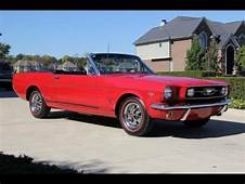 1966 Ford Mustang GT Convertible K Code HiPo Classic