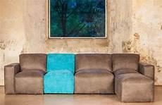 cubik variables sofa grau einfarbig stoff
