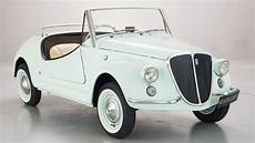 fiat 500 gamine by vignale is an adorable two cylinder cabrio