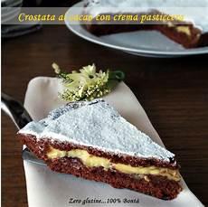 crostata al cacao con crema pasticcera crostata al cacao con crema pasticcera idee alimentari ricette dolci e ricette