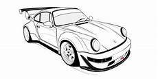 Porsche 911 Drawing At Getdrawings Free For Personal
