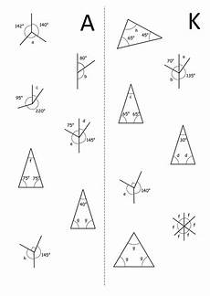 ks3 angle problems worksheet by baconeducation teaching