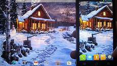 winter holiday live wallpaper 1 0 2 youtube