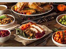 19 chain restaurants serving Thanksgiving dinner   New