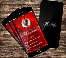 iphone name card template 50 magnificent free business cards design