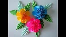 Blumen Aus Papier Notizzettel Selber Falten