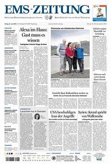 Ems Zeitung - ems zeitung vom 14 06 2019 als epaper im ikiosk lesen