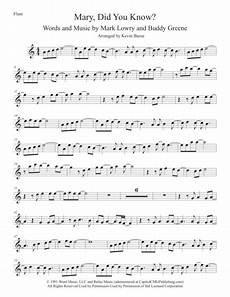 preview mary did you know easy key of c flute h0 462707 6676 sheet music plus