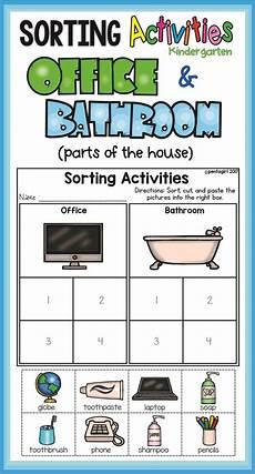 free sorting worksheets for preschoolers 7870 sorting activities posters and worksheets office and bathroom sorting activities kindergarten