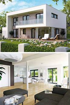 Stadtvilla Modern Bauhaus Stil Mit Flachdach Architektur