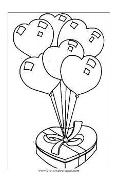 Malvorlagen Herz Quest Herz Luftballons Gratis Malvorlage In Diverse Malvorlagen