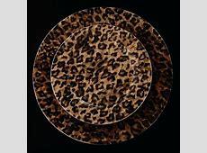 Cheetah Dinnerware Set Leopard Dishes Designated Survivor