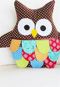 owl sewing pattern owl pillow pattern large owl pdf