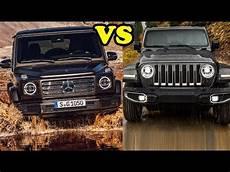 new mercedes g class vs 2018 jeep wrangler