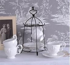 geschirr set landhausstil shabby chic porzellan set krone kaffee service