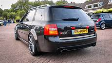 audi rs6 c5 600hp audi rs6 c5 biturbo loud revs crackles
