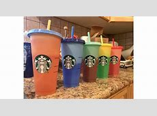 starbucks color changing cups online