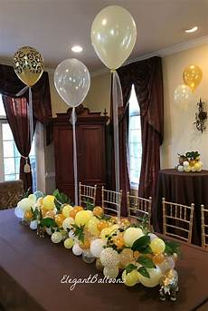 Decorations On by Organic Balloon Table Runner Decoration For Your