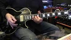 recording guitar studio guitar recording session guitar gibson les paul black
