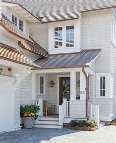 gorgeous exterior with copper gutters modern farmhouse